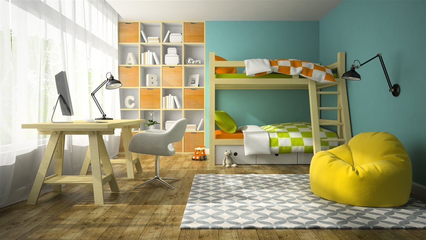How to Manage Storage With Children Sharing a Room