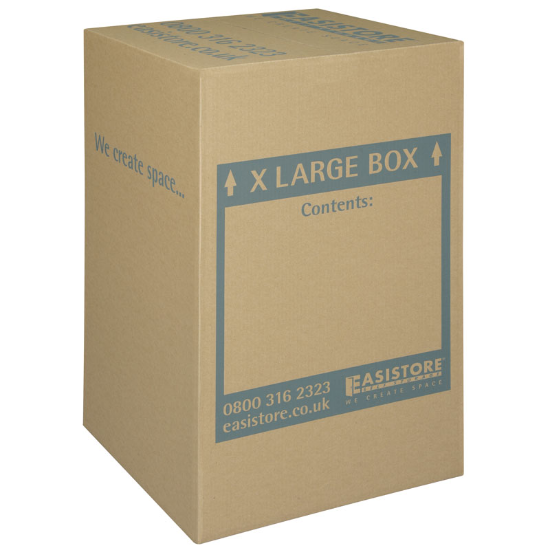 extra large cardboard box packing boxes self storage. Black Bedroom Furniture Sets. Home Design Ideas